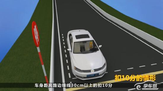 小型汽车科二考试目标: 考试是否掌握车辆机件操纵方法;是否具备正确控制车辆运动空间位置的能力及准确控制车辆的行驶位置、速度和路线的能力。 科目二考试项目包括: 倒车入库、侧方位停车、坡道定点停车和起步、直角转弯和曲线行驶,满分100分,80分合格,考试成绩累计计算,其中一项不合格,则考试结束。 在考试过程中必须系安全带,不系安全带考试不合格。考试全程每熄火一次扣10分。每个考试项目结束后,考试车辆须迅速驶离考试区域,进入下一考试项目,中途不得停车。五个考试项目全部结束后,考生应将考试车辆停放在规定地点。