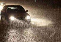 学驾心得:雨天开车技巧_雨天开车注意事项