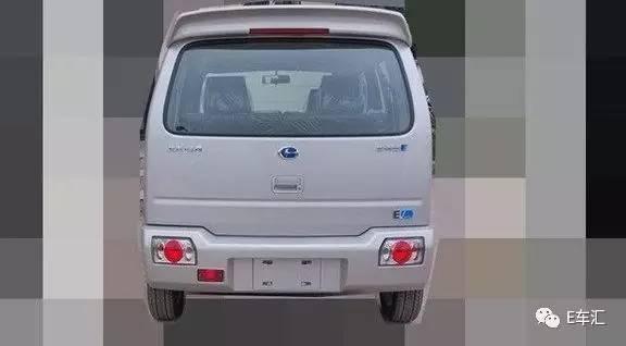 """北汽昌河首款新能源车上海车展首发北斗星E能""""商住两用"""""""