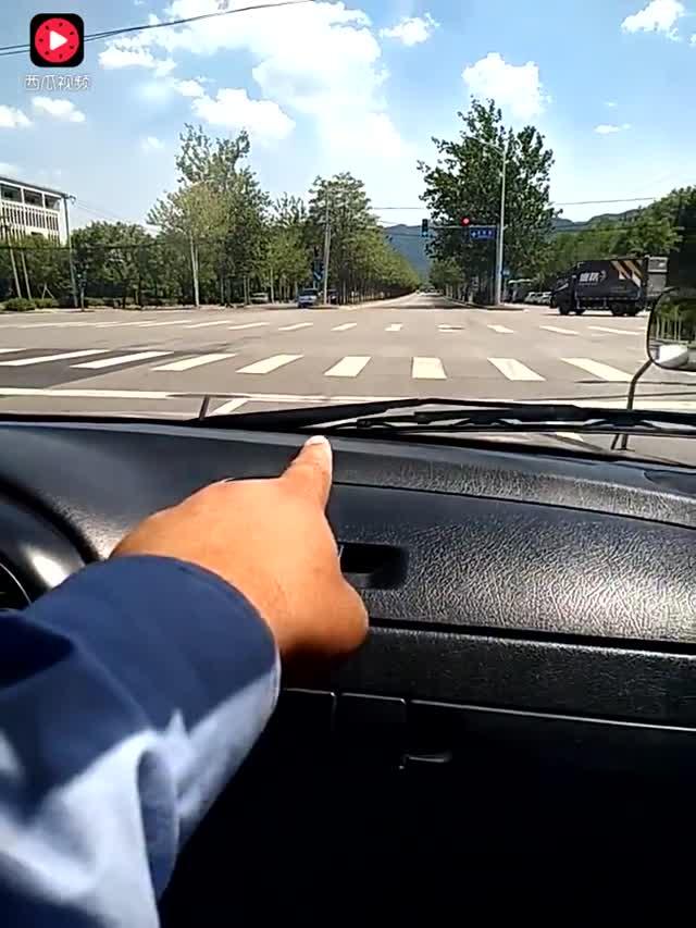 驾考科目三红绿灯路口停车与起步技巧,这样做轻松考试!