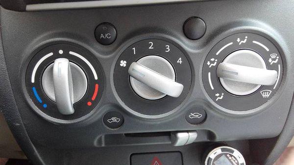 汽车空调怎么开冷风