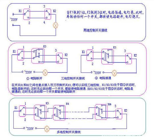 【三联开关上接线符号是什么意思】- 驾考宝典