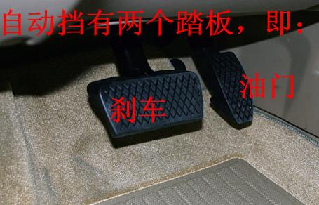 """离合器踏板:是手动挡汽车离合器总成的操纵装置,是汽车与驾驶员""""人机"""