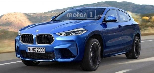 更运动 更霸气 宝马X2 M车型假想图高清图片