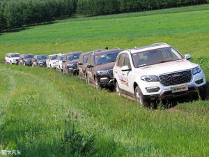 让四驱绽放在绿地 哈弗H8草原穿越之旅