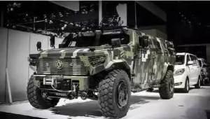 敢和乔治巴顿和悍马PK的国产硬派SUV,民用版本港口排队出口