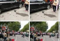 安达驾校百科:无证驾驶跑车连撞3车 事发市区双元路,事故致1男子重伤