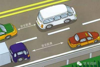 科目一时速与安全距离巧记 平时开车有做到吗?