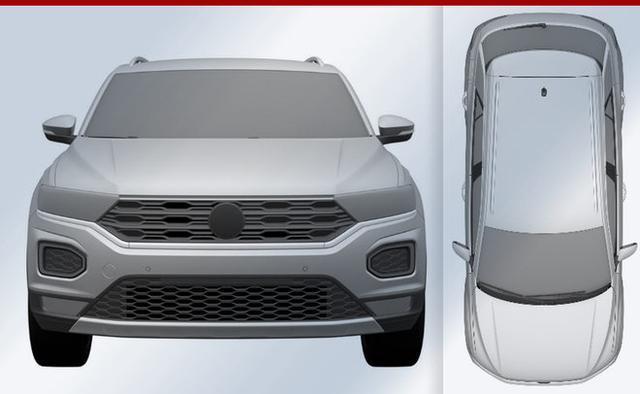一汽大众首款SUV申报图曝光明年上市高清图片