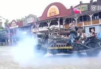 V12的引擎用在摩托车上,霸气啊