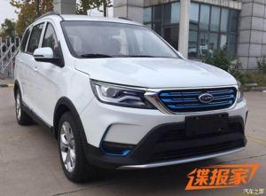 2018年一季度上市 曝开瑞K60 EV申报图