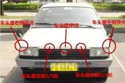 学车技巧科目二认准这些点和线,考试易过