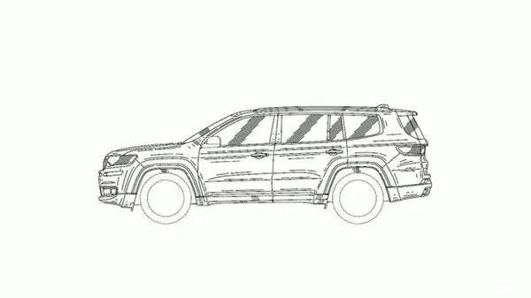 jeep首款大7座suv明年上市,汉兰达,途昂还敢加价吗?
