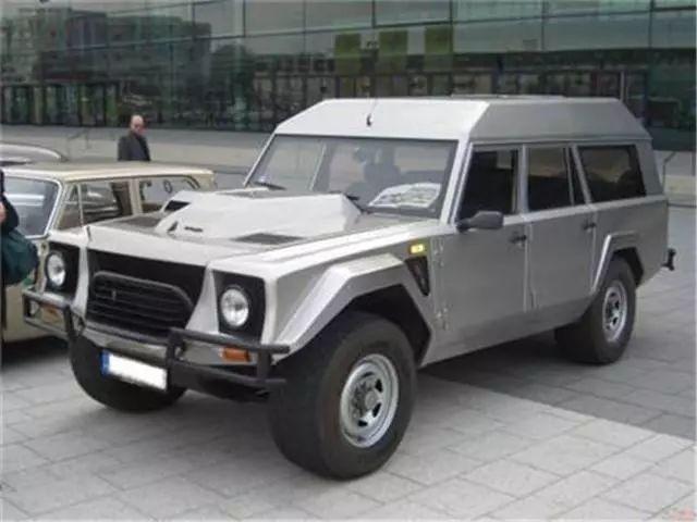 31年前的兰博基尼SUV被誉为奢华SUV鼻祖200万一辆