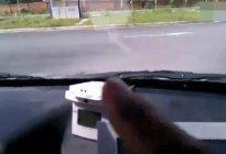 驾校教练讲解科目二考试场地对点技巧视频