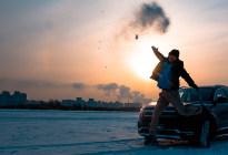 这次玩原创 众泰T500冰雪试驾
