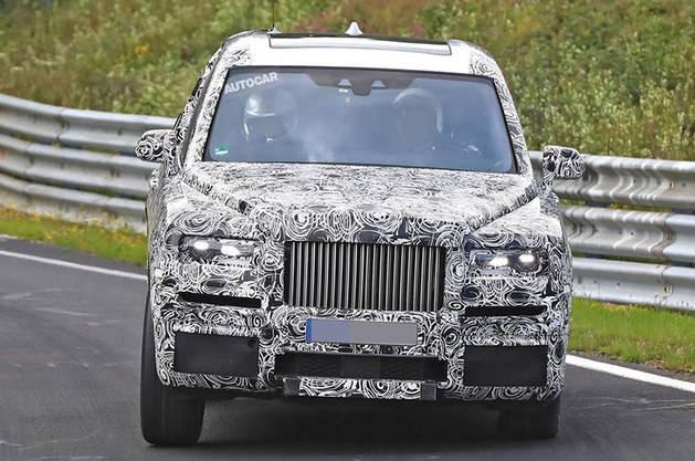 劳斯莱斯全新SUV曝光用砖石之名命名你猜叫什么?_腾讯分分彩开号