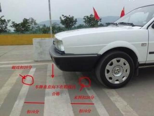 驾考科目二:教练简单一分钟教你坡道定点停车与起步,实用技巧!