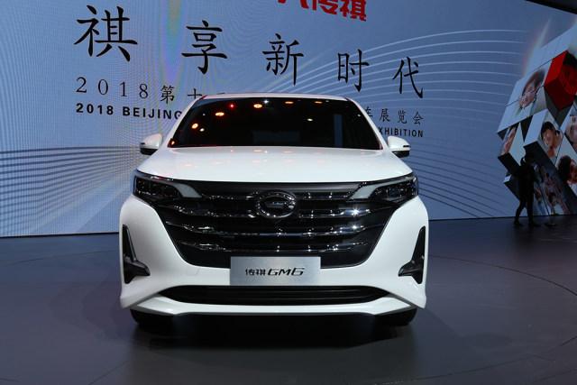 2018北京车展:广汽传祺入门级竞品MPV车型GM6发布