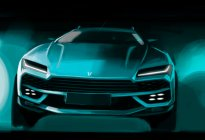 北汽全新SUV设计图 酷似兰博基尼URUS/定位中型SUV