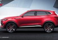 MG X-motion Concept概念车量产版命名为名爵HS  性感爆表催动荷尔蒙爵醒