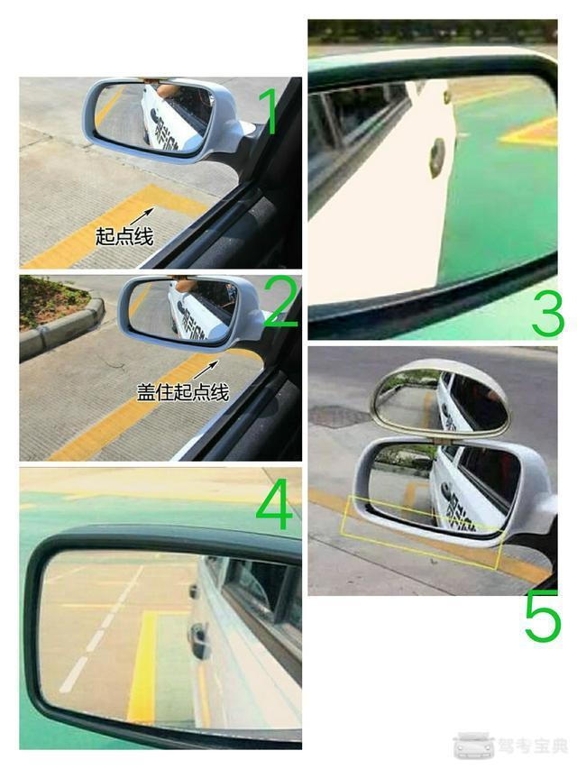 科二倒车入库怎样看点打标的目的盘插图(1)