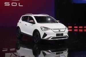 江淮大众SOL E20X将于9月上市 纯电SUV