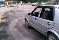 视频:倒车入库(车外视角)