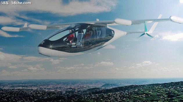 从概念图来看,该飞行器外形十分漂亮,很像外星飞船.