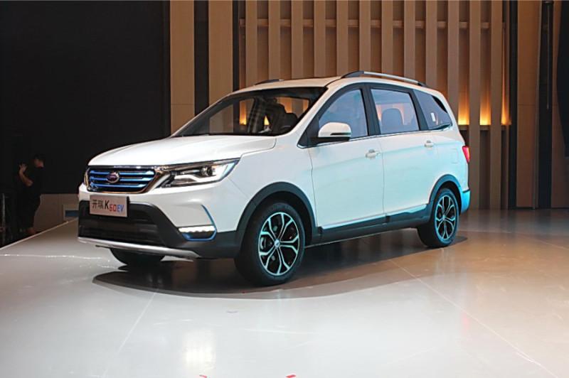 新能源7座SUV会是什么体验?实拍开瑞K60—EV