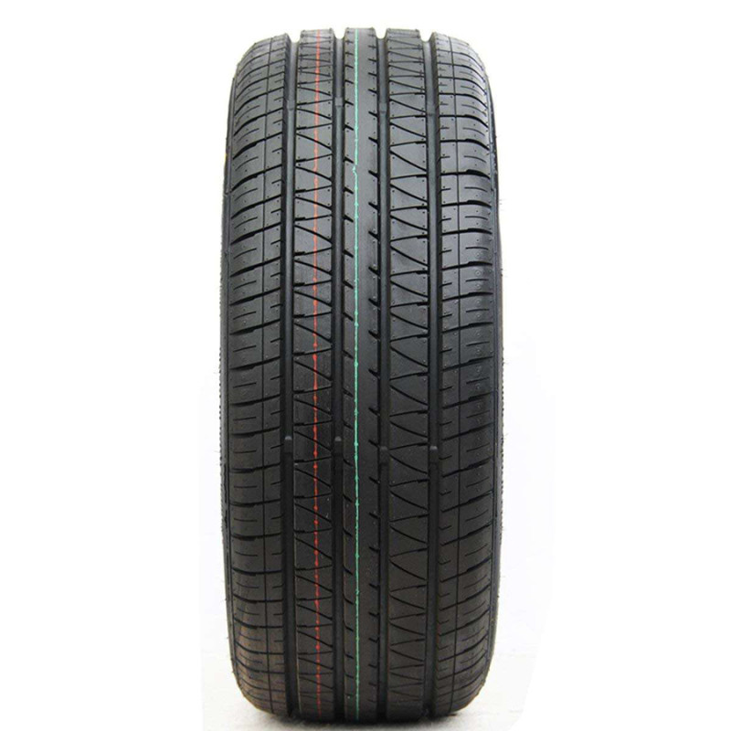 横沟花纹:该轮胎最突出的特点是耐磨性极佳,但操控性及排水性较差,较