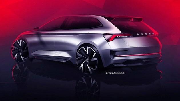 斯柯达Vision RS概念车假想图 巴黎车展正式发布_快乐十分开奖结