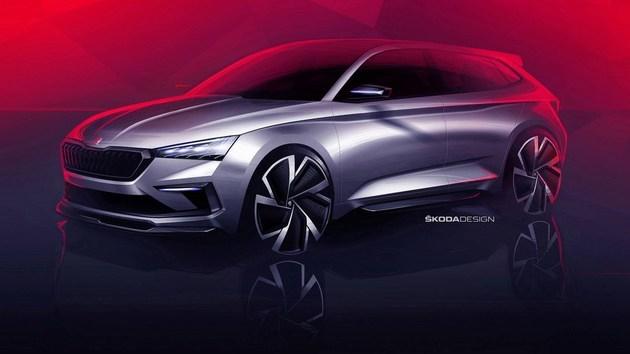 斯柯达Vision RS概念车假想图 巴黎车展正式发布_腾讯分分彩qq群