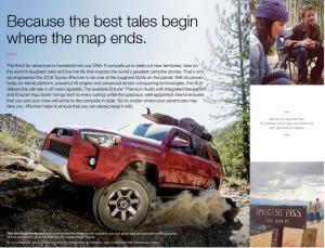 越野人士的福利——丰田4Runner配置分析