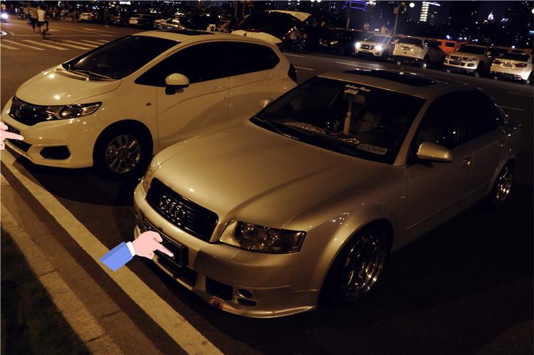 广州绞牙党打造低姿态经典奥迪A4,就算磕破底盘也要坚持到底!