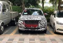 东风风光全新小型SUV谍照 点阵式中网/或于明年秋季上市