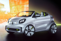 Smart Forease概念车官图发布