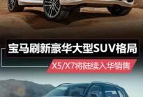 宝马刷新豪华大型SUV格局 X5/X7将陆续入华销售