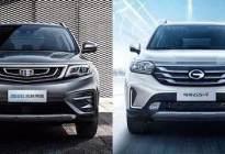 月销量多达两万辆的自主紧凑型SUV,你选GS4还是博越?