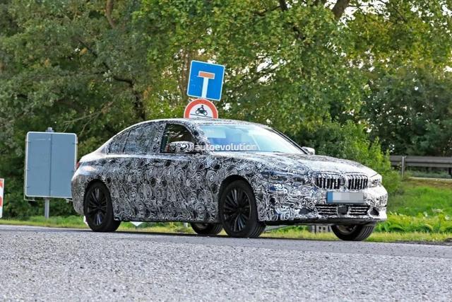 加长轴距版全新宝马3系开始海外路试,19年3月欧洲上市