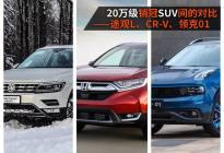 20万销冠SUV的PK—途观L、CR-V、领克01