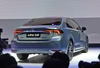 新一代卡罗拉双擎正式亮相 配备2.0L混动系统