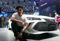 【广州车展实拍】丰田亚洲龙发布,将推出6款车型,现已接受预定