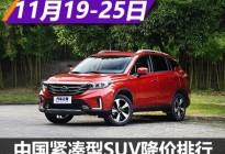GS4降2万 中国品牌紧凑型SUV降价排行