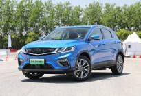 吉利首款插电小型SUV 缤越PHEV将与5月底上市