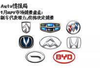 9月MPV市场销量盘点:新车代表潜力,价格决定销量
