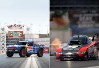 针锋对决 福特Baja卡车PK丰田加速赛车