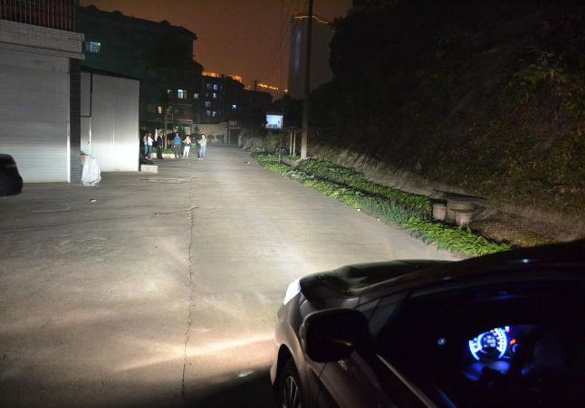 科目三夜考灯光使用方法