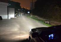 科目三路考夜间模拟考试灯光使用方法