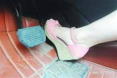 穿高跟鞋开车,后果究竟有多可怕?女司机必看插图